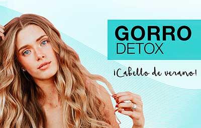 tratamiento con gorro detox en peluqueria m. belén madrid centro