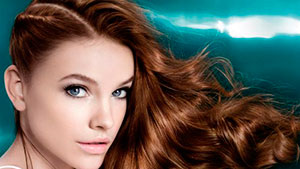 Model de Cuidado del cabello coloreado en Belé, estilismo en Madrid centro