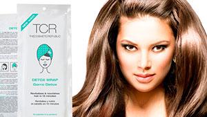 tratamiento brillo y volumen al instante para tu cabello en M. Belén con gorro DETOX