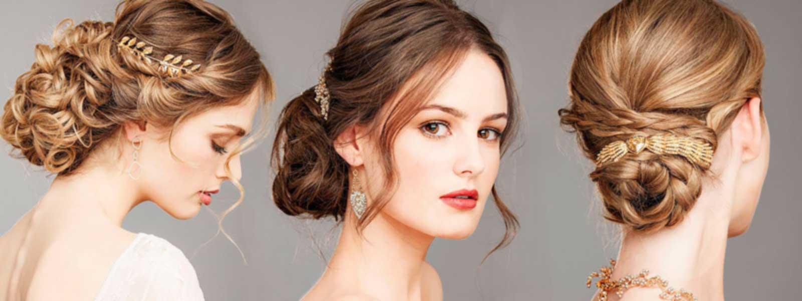 Peinados para novias y para madrinas de boda
